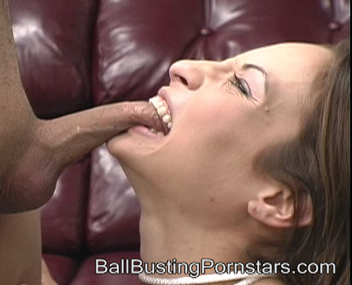 Amber Rayne Tries to Bite off The Kidnapper's Genitals
