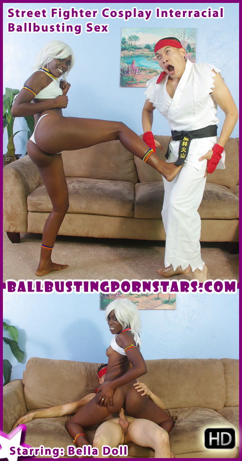 Elena Street Fighter Cosplay Porn